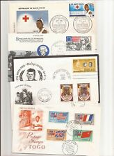 SENEGAL(+OTHER AFRICAN COUNTRIES)-14 Covers including 6 duplicates