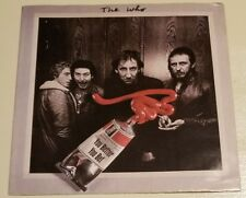 The Who - 45 Promo COVER - You Better You Bet and The Quiet One - Picture Sleeve