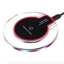 Qi STATION DE CHARGE FAST sans fil + RÉCEPTEUR POUR IPHONE x 8 Samsung S8 S7