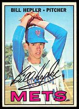 1967 OPC O PEE CHEE TOPPS BASEBALL #144 BILL HEPLER EX-NM NEW YORK N Y METS