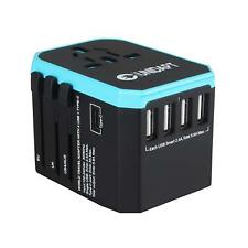 USB Travel Power Adapter Universal All in One Wall Charger Power Plug Adapter