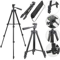 Professional Aluminum Tripod Stand Mount Holder for Canon Nikon Sony DSLR Camera