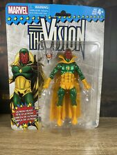 """THE VISION - MARVEL LEGENDS RETRO 6"""" WAVE CARDED"""