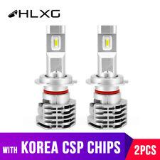 2* NEW Super Bright H7 6000K LED Headlight Bulbs Kit Fog Light 35W 4000LM CSP