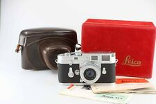 Leica M3 M 3 Elmar M 50 50mm 2,8 Leitz in box very nice set   88100