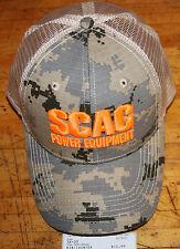 SCAG HAT CAMO/ORANGE PART NUMBER 38-03