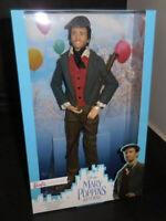 Barbie Disney Mary Poppins Jack The Lamplighter Toy Doll - Lin Manuel Miranda