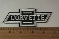 Vintage Chevrolet Chevy Corvette  Bowtie Iron-On Embroidered Patch 4.75x1.75""