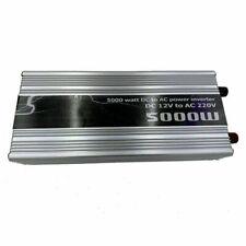 5000W POWER INVERTER DC 12V 220V REMOTO ONDA SINUSOIDALE Nuovo
