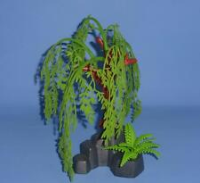 Playmobil Weeping Willow Tree on Rocky Outcrop Scenery - House Farm Castle Fairy