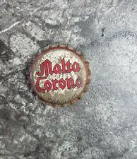 MALTA CORONA BEER SODA BOTTLE CAP  CORK-LINED PUERTO RICO