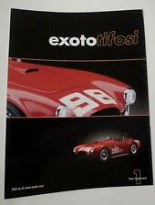 Ancien catalogue d'origine EXOTO 2003 1:18 - Shelby - Chaparral - Ford