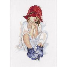 Counted Cross Stitch Kit RTO - Girl dreaming.