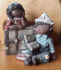 Sarah's Attic Muffin and Puffin Chest # 3361 African American