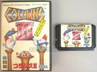 "SEGA MEGA DRIVE MD GENESIS "" COLUMNS III 3 "" BOXED JAPAN"