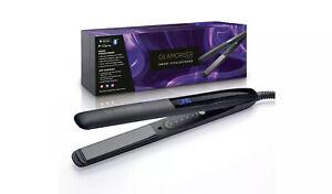GLAMORISER Smart Hair Straightener - Blue (BRAND NEW/BOXED)