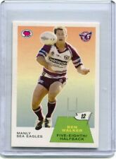 2003 NRL SCANLENS RETRO BEN WALKER# 43/60 ONLY EVER MADE MANLY SEA EAGLES