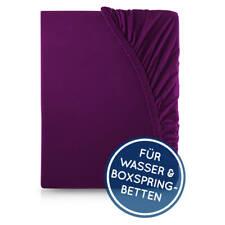 Spannbettlaken Wasserbett Boxspringbett Pflaume Violette Purple Veilchen Purpur