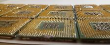 1LB Intel Gold Scraps Recovery 24 CPU Chip Processors Gold Plated Pins/Legs 461g