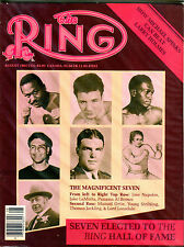 The Ring Boxing Magazine August 1985 The Ring Hall Of Fame EX 060616jhe