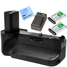 Vivitar Deluxe Battery Power Grip for Sony a6300 & a6500 Cameras w/ Battery Pack