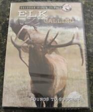 Elk Calling Sounds to Success 60 Minute Dvd 50 Bulls Bugling Don Laubach Sealed
