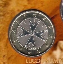 Malte 2016 1 euro Poincon F BU FDC Provenant BU - Malta