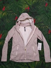 Size Medium Active Life 90 Degree By REFLEX NWT Gray Hoodie Zip Up 138$ MSRP