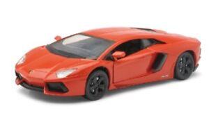 NEW71253-2 - Voiture de sport LAMBORGHINI Aventador LP700-4 Orange -  -