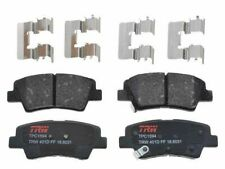 For 2014-2016 Kia Forte5 Brake Pad Set Rear TRW 39494JR 2015 EX Ceramic Premium