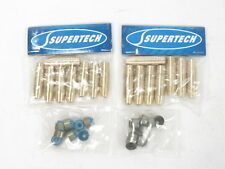 Supertech Bronze Valve Guides & Stem Seals Set Acura Honda B17A B16A B18C H22A