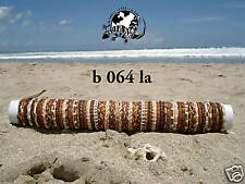 WHOLESALE 30 UNISEX NEW MIX BROWN LEATHER SURFER SKATER BRACELETS BNIP / b064la