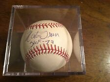 Monte Irvin Autograph Baseball HALL OF FAMER