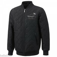 Adidas WINTER VARSITY JACKET QUILT superstar Letterman sweat shirt Coat~Men sz S