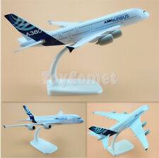 Airbus A380 House Color Airplane 20cm Solid DieCast Plane Model