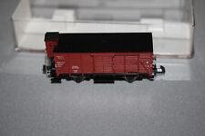 Fleischmann 8355 2-Achser gedeckter Güterwagen G10 Bremserhaus DB Spur N OVP