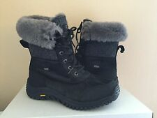 UGG ADIRONDACK II WOOL BLACK WATER RESISTANT Bella Boot US 8.5 / EU 39.5 /UK 7