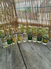 9 mignonettes liqueurs chartreuse , pères chartreux