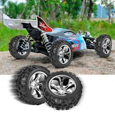 2PCS RC Car 1/8 Tires 17mm Hub Wheel Rims Tyres 8477 for 1:8 RC Car Buggy Truck