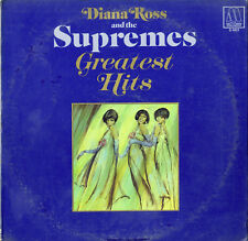 """Diana ROSS and THE SUPREMES"" Greatest hits / 2 LPs US (MOTOWN 2-663 Stereo) VG+"