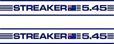 Streaker Australia Fishing Boat Sticker Decal Marine Set of 2, Any Model Number