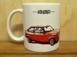 300ml COFFEE MUG - FORD ESCORT RS2000 RS1800