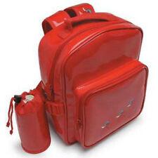 Maletas y equipaje rojos sintético