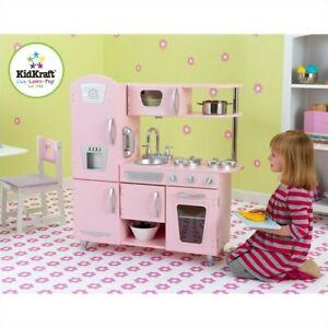 KidKraft Vintage Play Kitchen in Pink