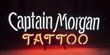 "New Captain Morgan Tattoo Rum Beer Pub Neon Sign 17""x14"""