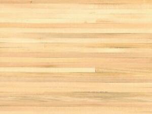 Dolls House Bare Wood Random Plank Flooring Wooden Strip Sheet Miniature