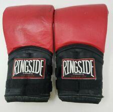 Vintage RINGSIDE Weighted Boxing Gloves - Adjustable - 25 oz Gloves Large