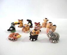 Lot 50 Mini Animal Peruvian Ceramic Bead Clay Mixed Model Handmade New Art Peru