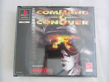 Command & Conquer Big Box Sony Playstation One PS1 Game Boxed Complete PAL