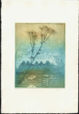 MARGIT EWERT - HERBARIUM * RARE ORIGINAL ETCHING signed limited edition
